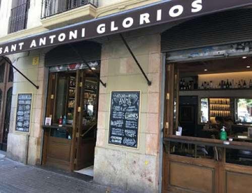 Sant Antoni Gloriós. Estil bar, però amb bona cuina