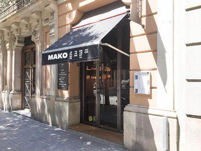 Mako restaurant entrada