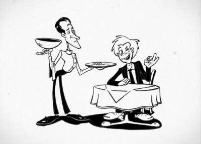 La Lubina Restaurant-comic