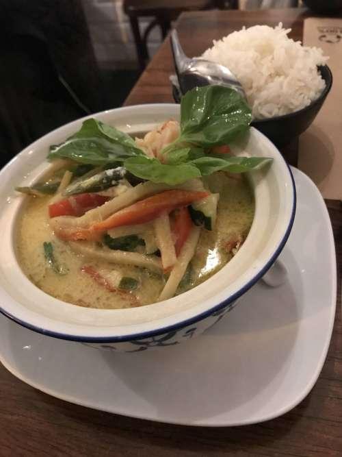 Bangkok cafè curry