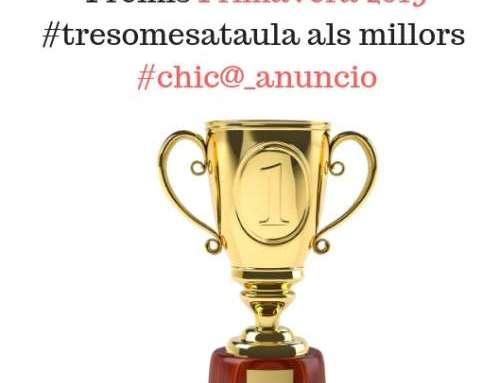 Premis Chico_Anuncio. Primavera 2019