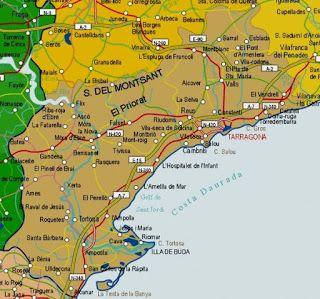 Tarragona Restaurants mapa