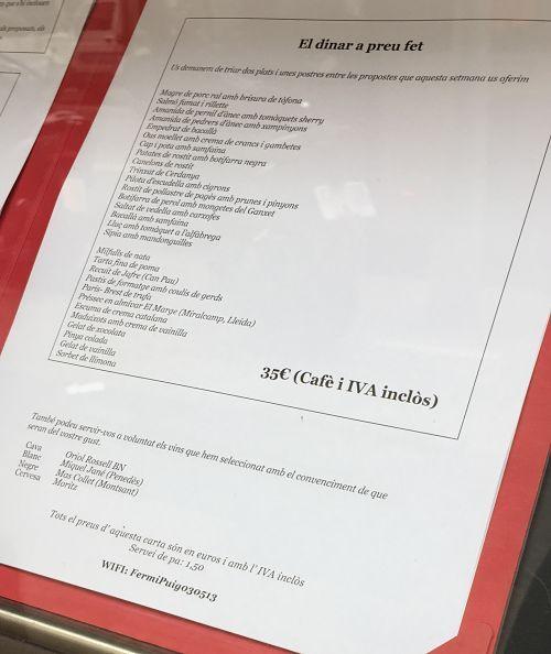 Fermí Puig carta