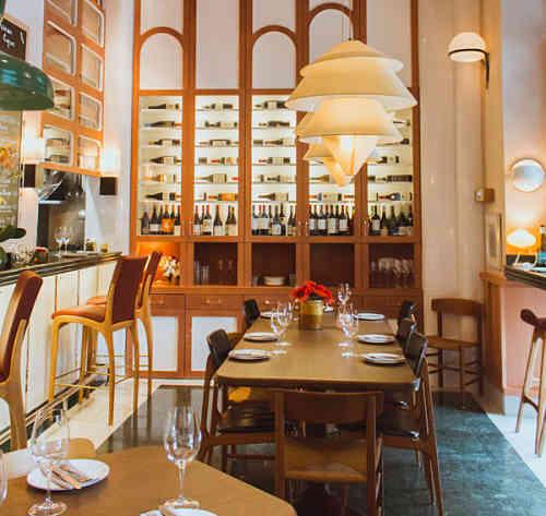 Mediamanga Restaurant interior