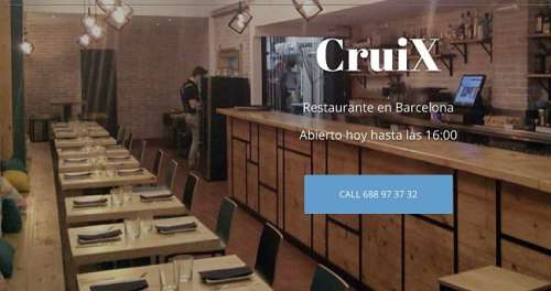 Cruix Restaurant sala