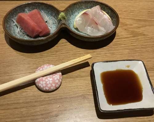 Sato i Tanaka sashimi