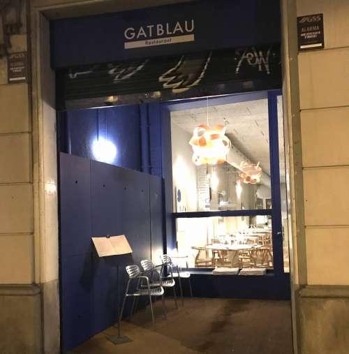 Gat Blau Restaurant entrada