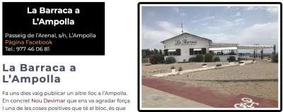 De Tarragona al Delta La Barraca