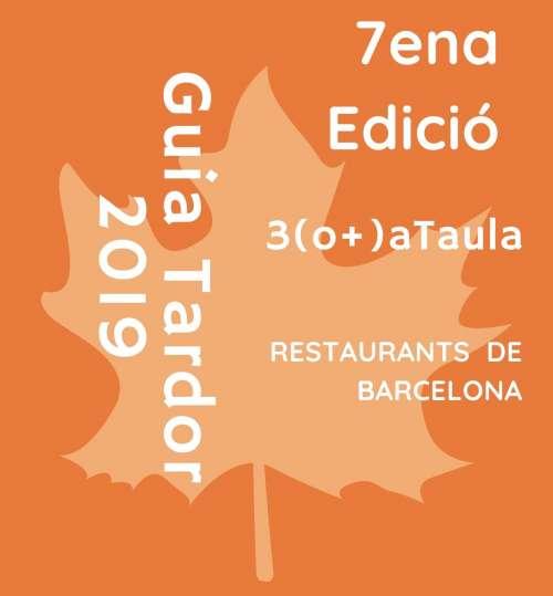 Guia de Restaurants de Barcelona 2019