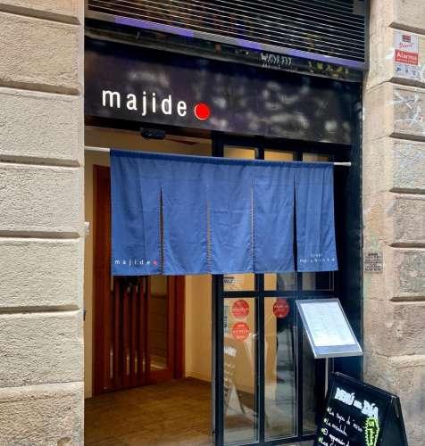 Majide entrada