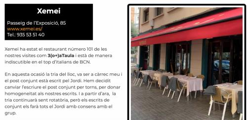 Restaurants BCN 2020 Xemei
